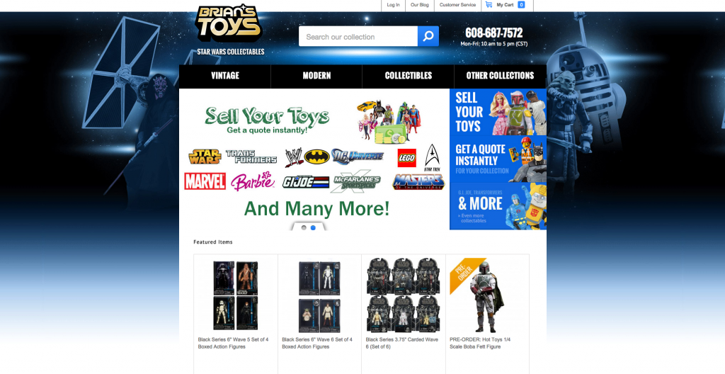 BriansToys.com